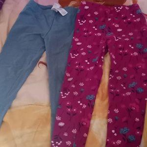 2 pairs of Carter leggings